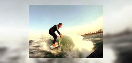 Shane Blanton - Early Wakesurf Sessions