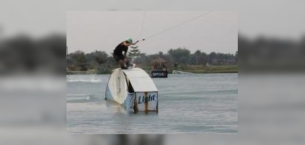 Cosima Giemza at Thai Wake Park